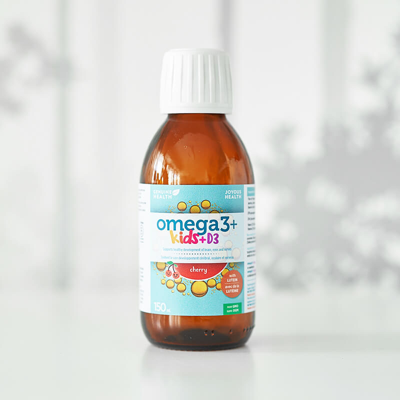 Genuine Health omega 3+ kids + D3
