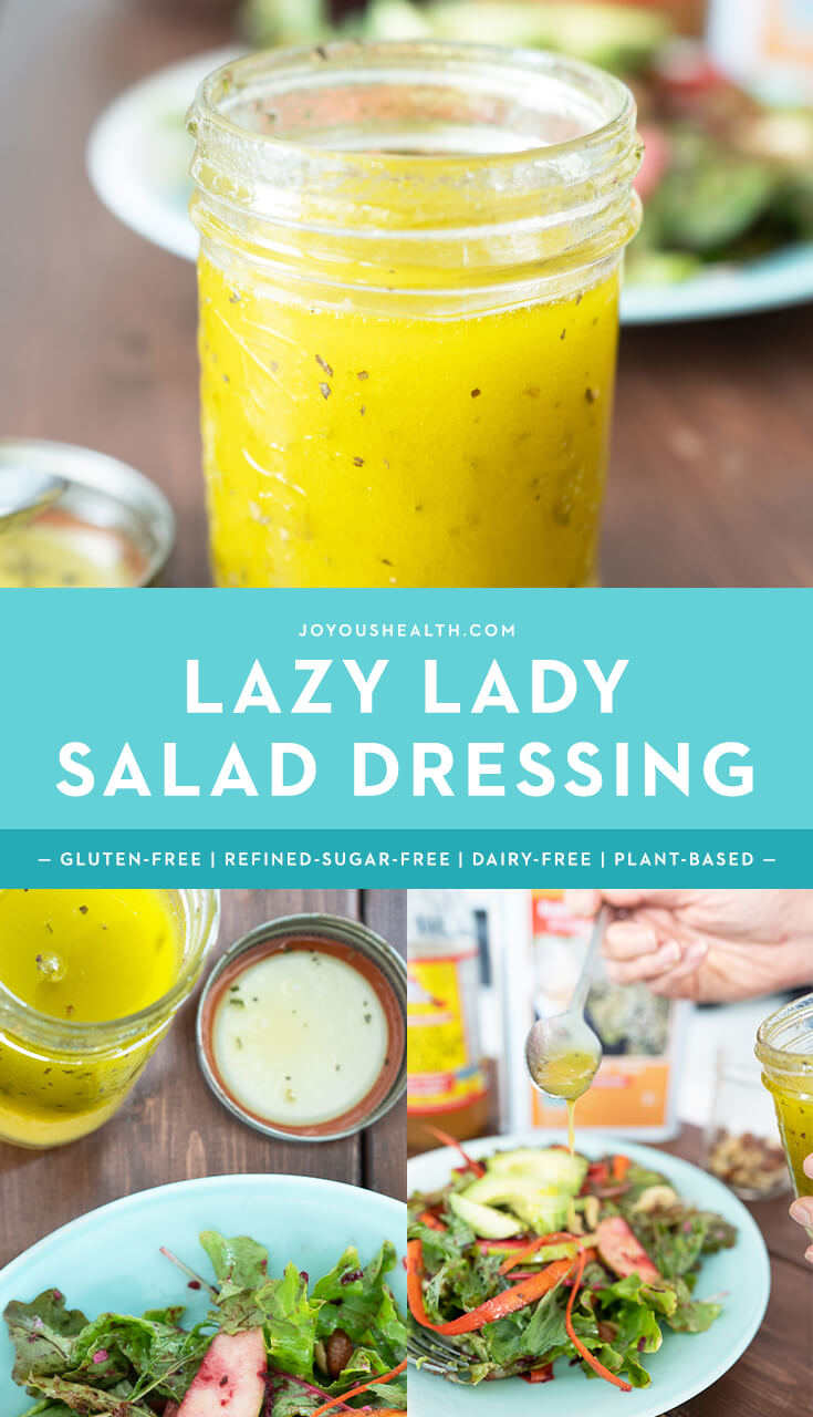 Lazy Lady Salad Dressing Pinterest
