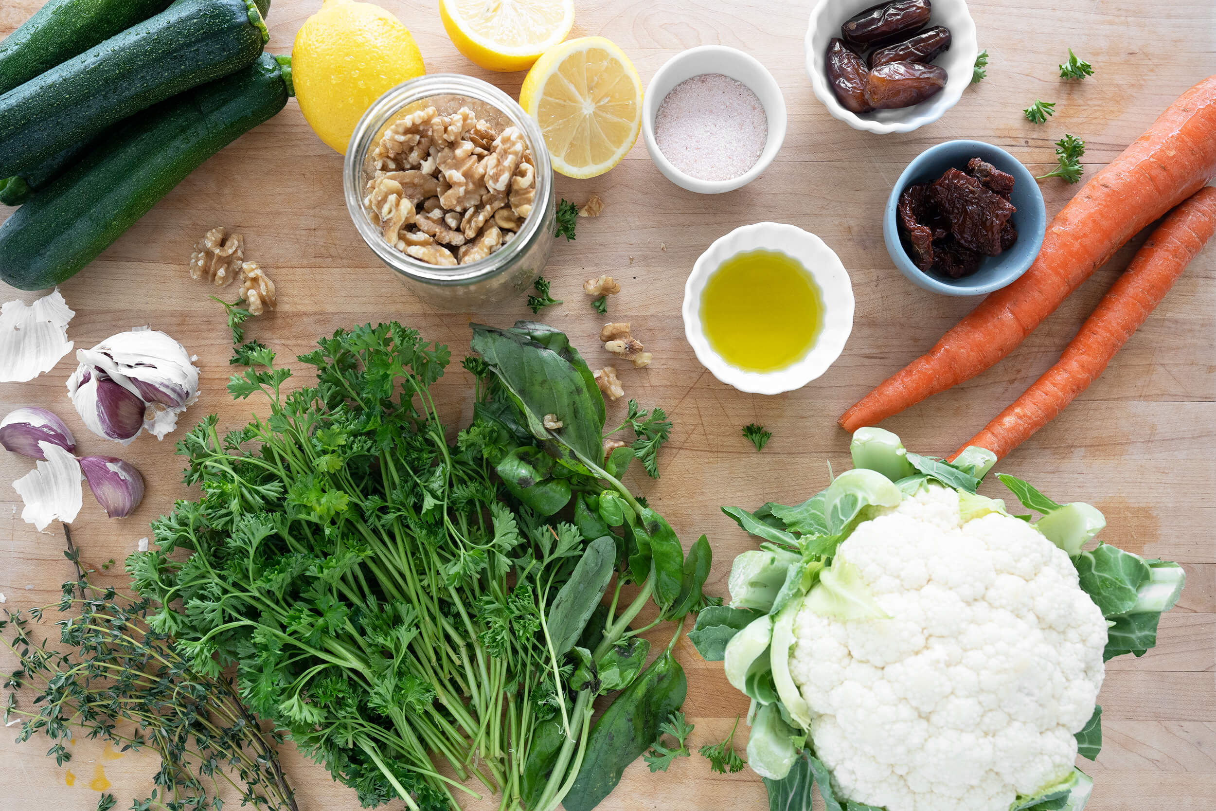 ingredients in paleo vegan meatballs